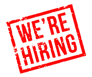 We're hiring…